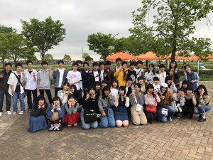 2019年山田池公園バーベキュー